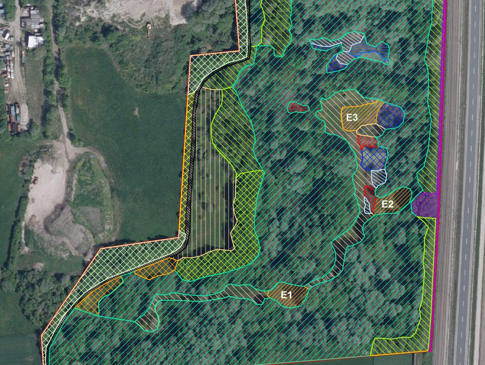 Abbildung Strukturkartierung GIS