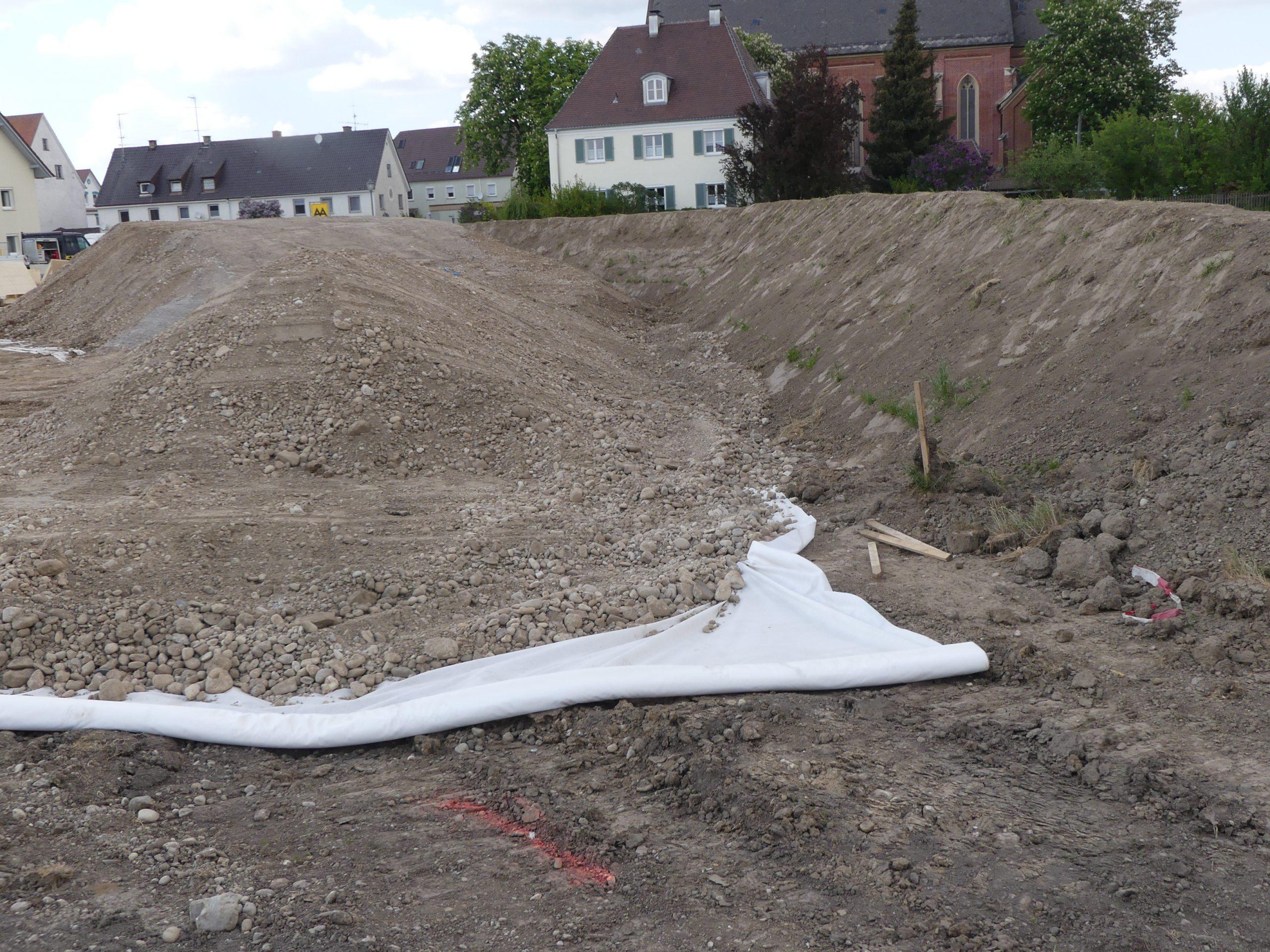 Ökologische Baubegleitung - Baustelleneinrichtungsfläche